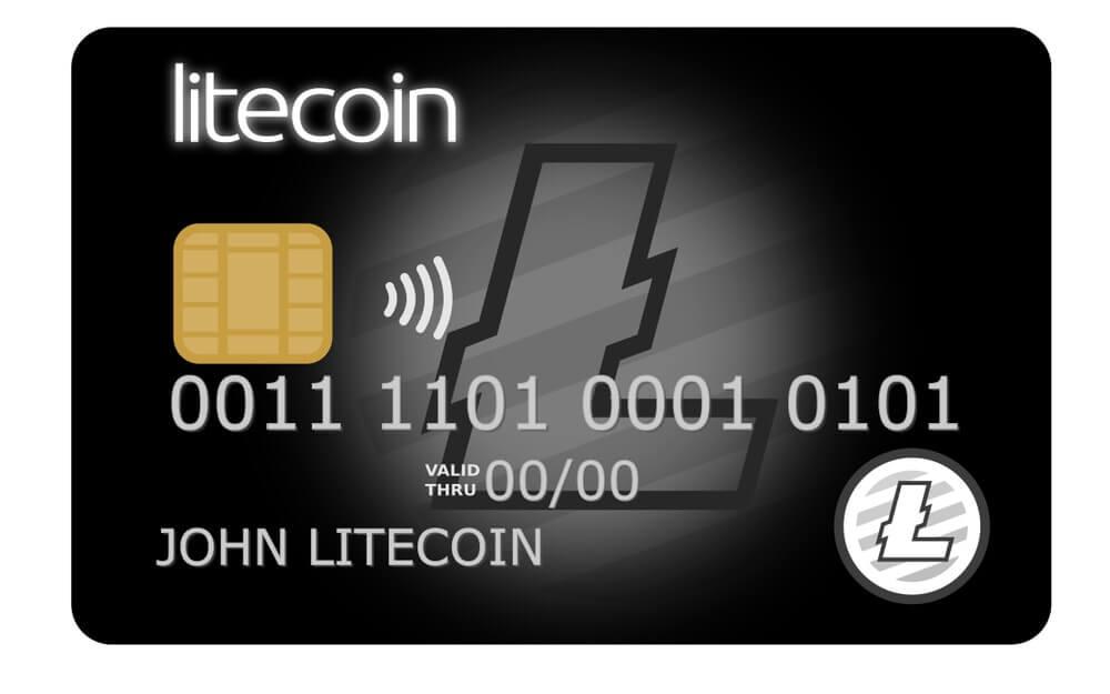 Litecoin Debit Card (Courtesy: Interactive Crypto)
