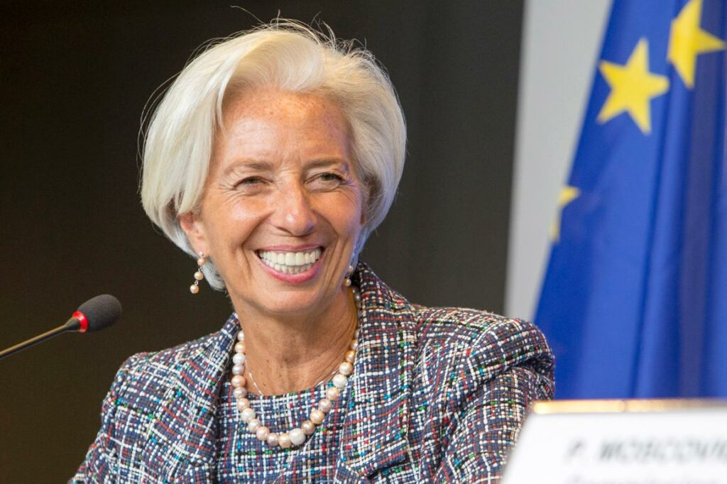 Christine Lagarde (Courtesy: Twitter)