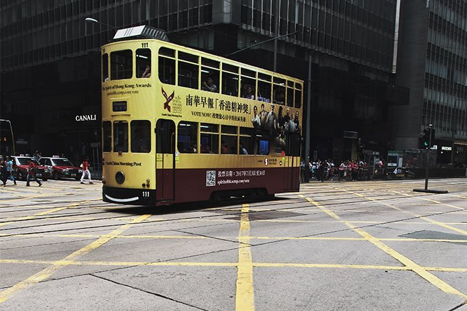 Hong Kong Tram (Courtesy: Twitter)