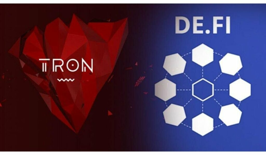 TRON-DeFi (Courtesy: Twitter)