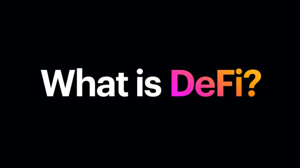 What is DeFi ?