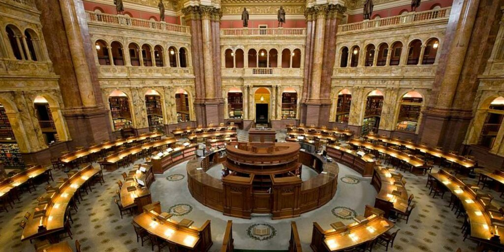 Library of Congress (Courtesy: Twitter)